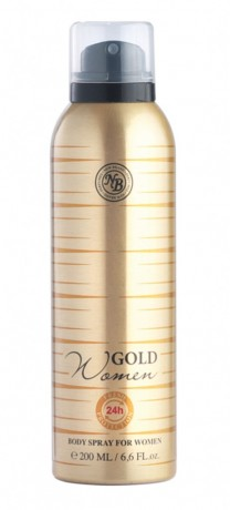 NEW BRAND WOMEN GOLD 200ml